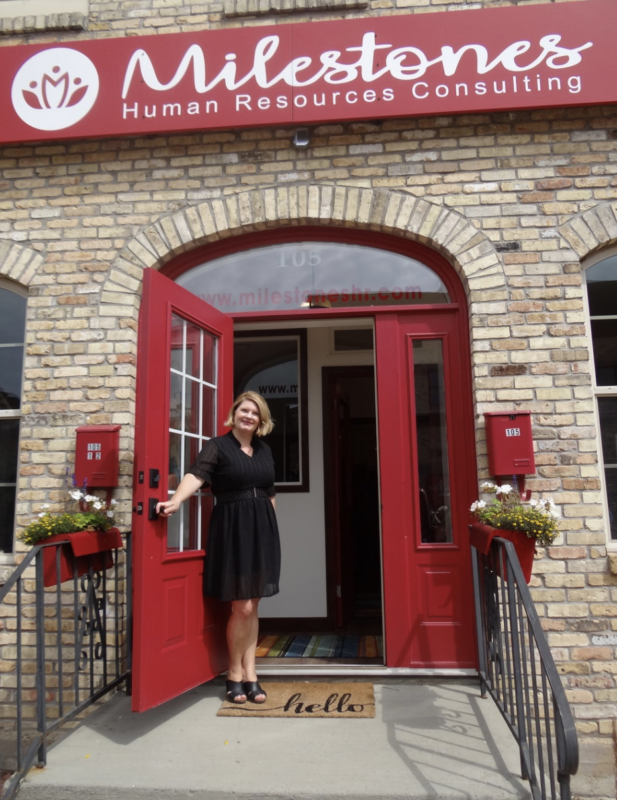 Angie Addison owner and founder of milestons human resources